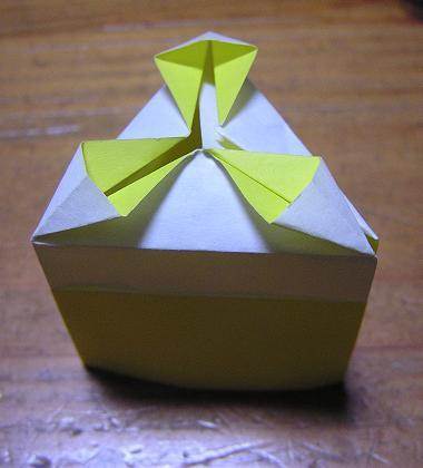 クリスマス 折り紙 折り紙 ケーキ : kinoomocha-daisuki.blog.so-net.ne.jp